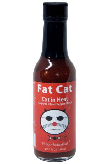 Fat Cat Cat in Heat Hot Sauce 141g