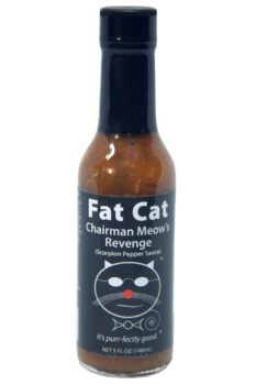 Fat Cat Chairman Meow's Revenge Scorpion Pepper Sauce 148ml