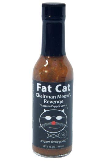 Fat Cat Chairman Meow's Revenge Scorpion Pepper Sauce 148ml