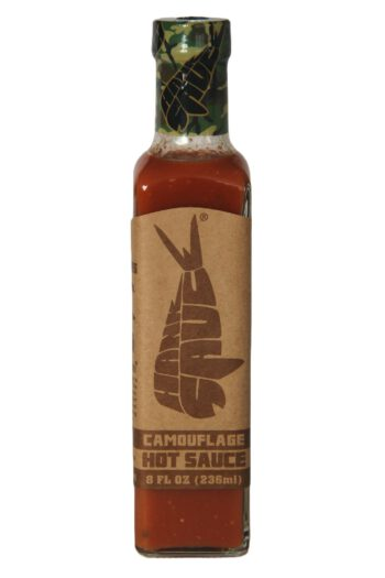 Hank Sauce Camouflage Hot Sauce 236ml