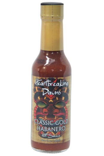 Heartbreaking Dawn's Classic Gold Habanero Hot Sauce 148ml