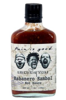 Pain is Good Habanero Sambal Hot Sauce 198g