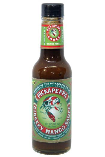 Pickapeppa Gingery Mango Sauce 148ml