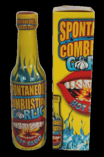 Spontaneous Combustion Garlic Hot Sauce 148ml
