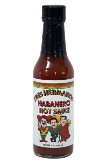 Tres Hermanos Habanero Hot Sauce 148ml