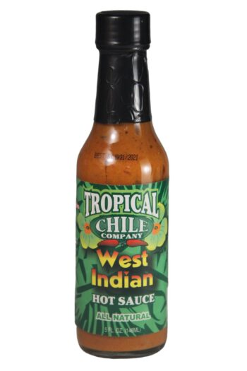 Tropical Chile Company West Indian Hot Sauce 148ml