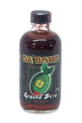 Da' Bomb Ground Zero Hot Sauce 118ml