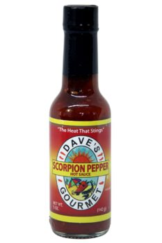 Dave's Gourmet Scorpion Pepper Hot Sauce 142g