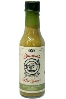 Dawson's Garlic Jalapeno Hot Sauce 155ml