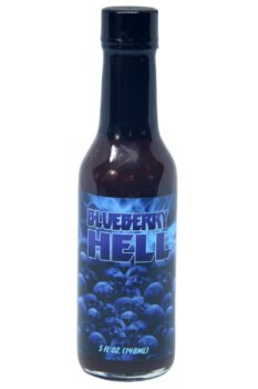 Hellfire Blueberry Hell Hot Sauce 148ml
