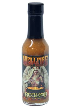 Hellfire Devil's Gold Hot Sauce 148ml