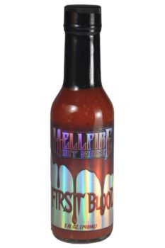 Hellfire First Blood Hot Sauce 148ml