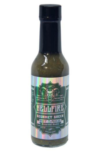 Hellfire Gourmet Green Hot Sauce 148ml
