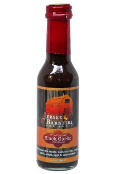 Jersey Barnfire Black Garlic Hot Sauce 148ml