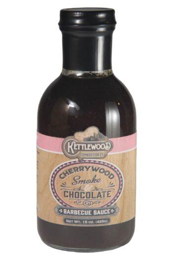 Kettlewood Cherrywood Smoke & Chocolate BBQ Sauce 425g
