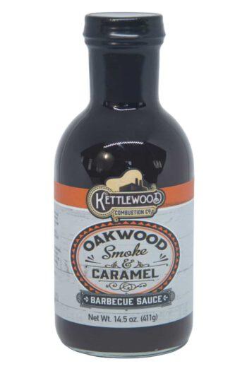 Kettlewood Oakwood Smoke & Caramel BBQ Sauce 411g