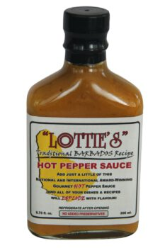 Lottie's Traditional Barbados Yellow Hot Pepper Sauce 200ml