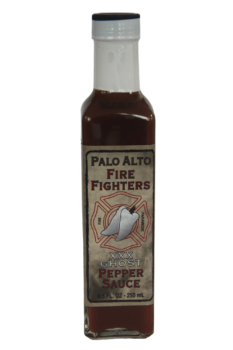 Palo Alto Firefighters Ghost Pepper Sauce 250ml