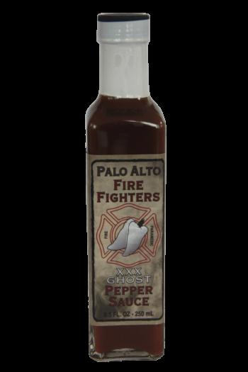 Palo Alto Firefighters Ghost Pepper Sauce 250ml