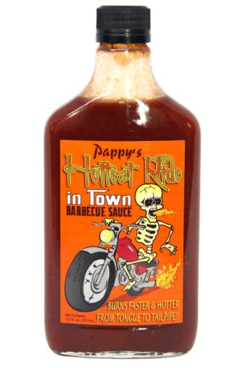 Pappy's Hottest Ride in Town Barbecue Sauce 375ml