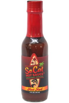 SoCal Hot Red Hot Sauce 148ml