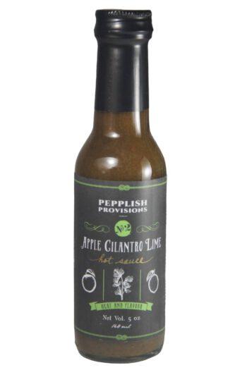 Pepplish Provisions Apple Cilantro Lime Hot Sauce 148ml