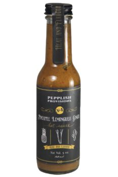 Pepplish Provisions Pineapple Lemongrass Ginger Sauce 148ml
