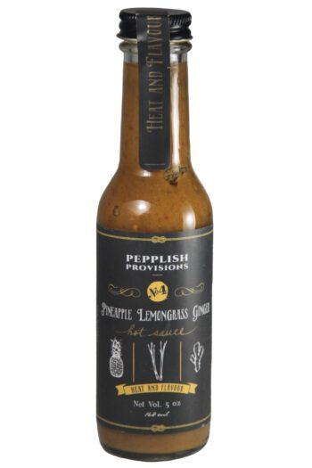 Pepplish Provisions Pineapple Lemongrass Ginger Sauce 148ml