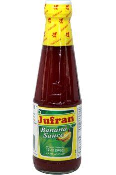 Jufran Banana Sauce Hot 340g
