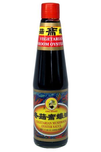 King Brand Vegetarian Mushroom Oyster Sauce 430ml