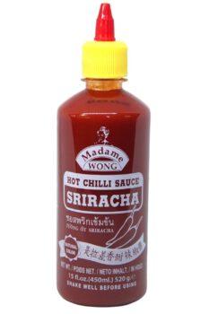 Madame Wong Sriracha Hot Chilli Sauce 450ml
