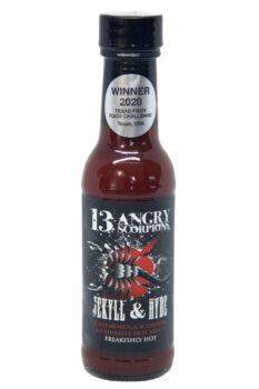 13 Angry Scorpions Jekyll & Hyde Chipotle BBQ Sauce 150ml