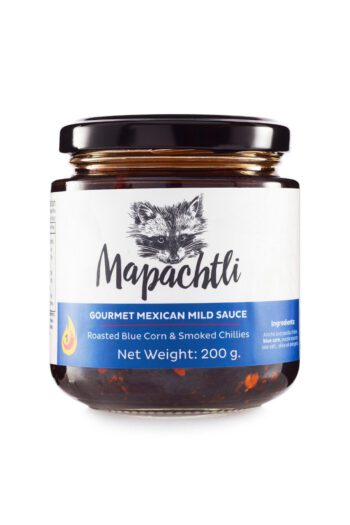 Mapachtli Macha Sauce with Blue Corn and Smoked Chillies 200g