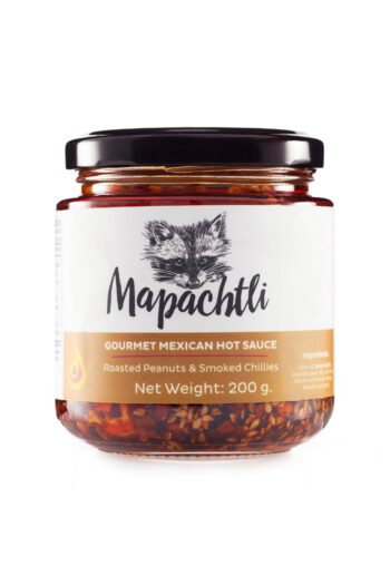 Mapachtli Macha Sauce with Roasted Peanuts and Smoked Chillies 200g