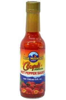 Blue Mountain Cooyah Jamaican Hot Pepper Sauce 150ml