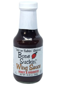 Bone Suckin' Honey & Habanero Wing Sauce 348g