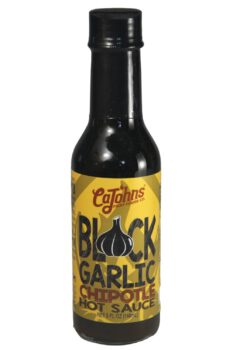 CaJohn's Black Garlic Chipotle Hot Sauce 148ml