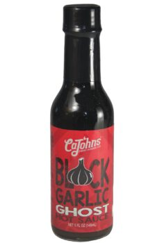 CaJohn's Black Garlic Ghost Hot Sauce 148ml