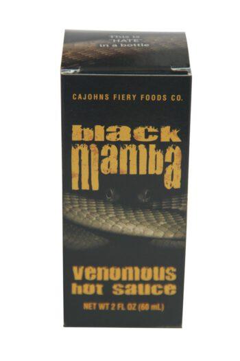 CaJohn's Black Mamba Extreme Venomous Hot Sauce 60ml