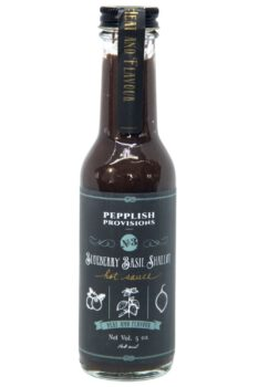 Pepplish Provisions Blueberry Basil Shallot Hot Sauce 148ml