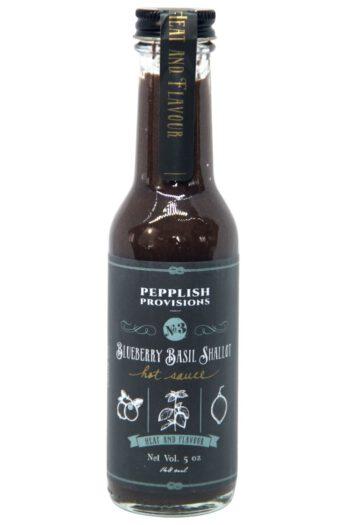 Pepplish Provisions Blueberry Basil Shallot Hot Sauce 148ml