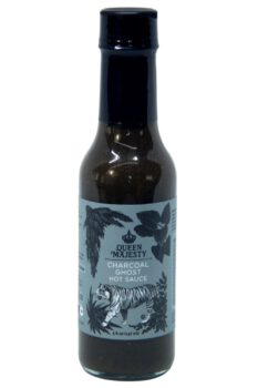 Queen Majesty Charcoal Ghost Hot Sauce 147ml