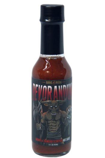 Burns & McCoy Devorandum Cherry & Trinidad Scorpion Hot Sauce 148ml