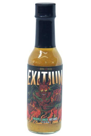 Burns & McCoy Exitium Pineapple Ginger Hot Sauce 148ml