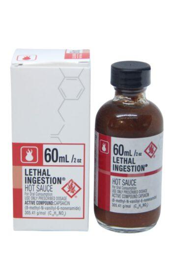 CaJohn's Lethal Ingestion Hot Sauce 60ml