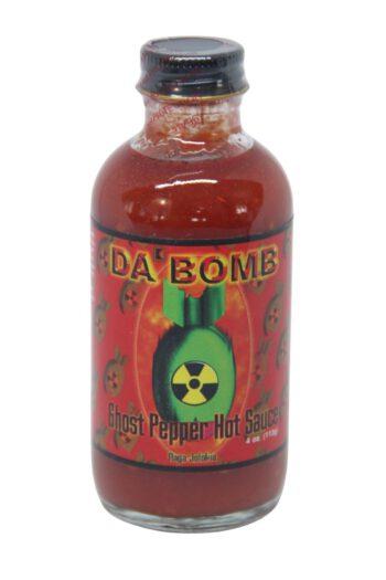 Da' Bomb Ghost Pepper Hot Sauce 113ml