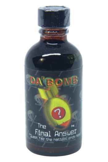Da' Bomb The Final Answer Hot Sauce 59ml