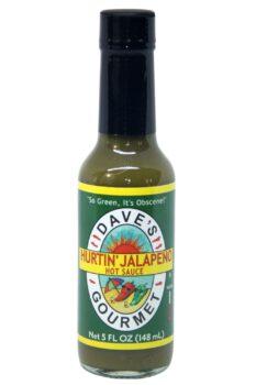 Dave's Gourmet Hurtin' Jalapeno Hot Sauce 142g