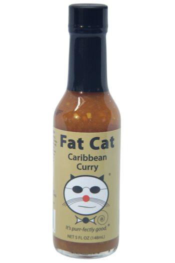 Fat Cat Caribbean Curry Sauce 148ml
