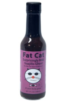Fat Cat Surprisingly Mild Guajillo Ghost Hot Sauce 141g